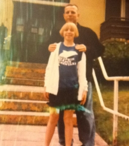 My dad and I in Germany 1996